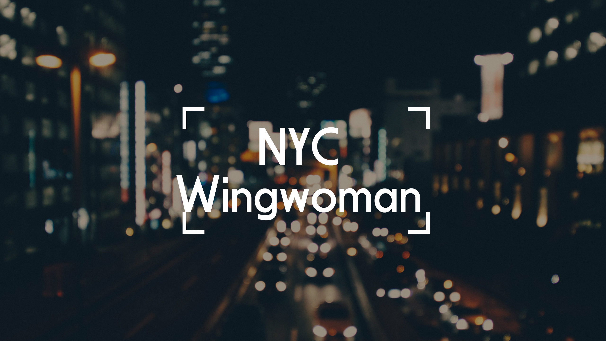 What is a Wing Woman?